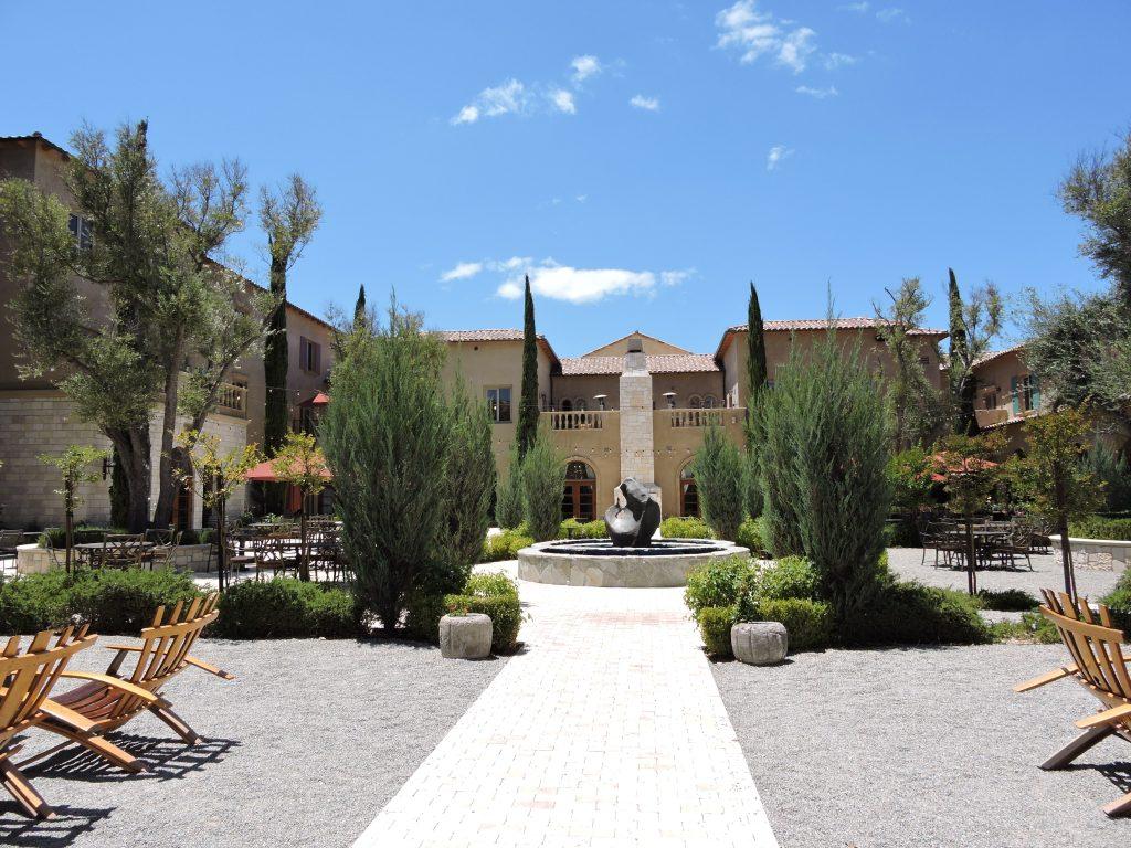 View of Allegretto Resort patio