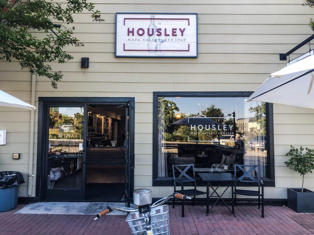 Outside Housley Tasting Room