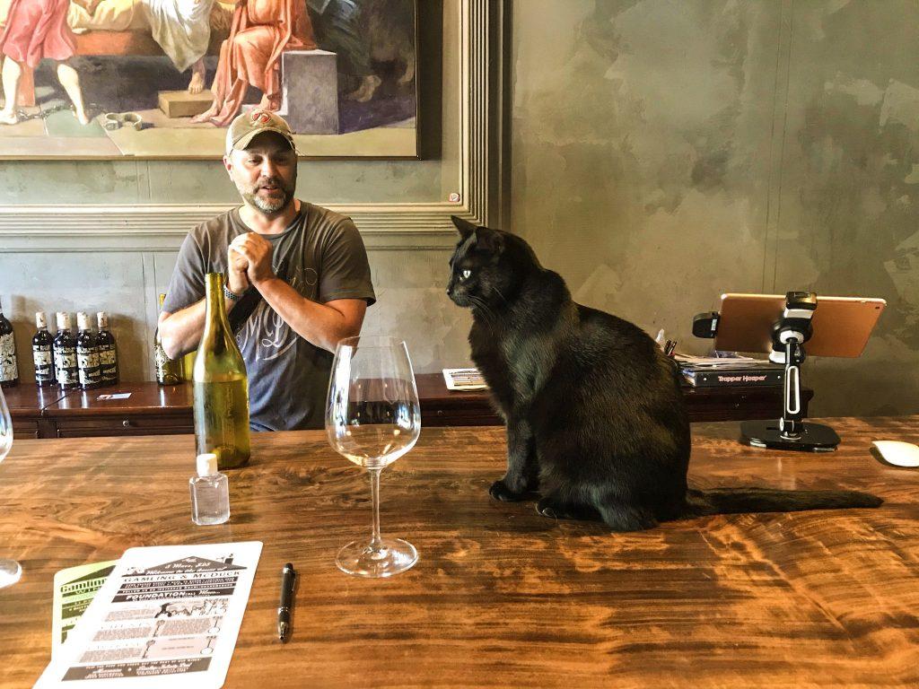Adam McCray and Black Cat