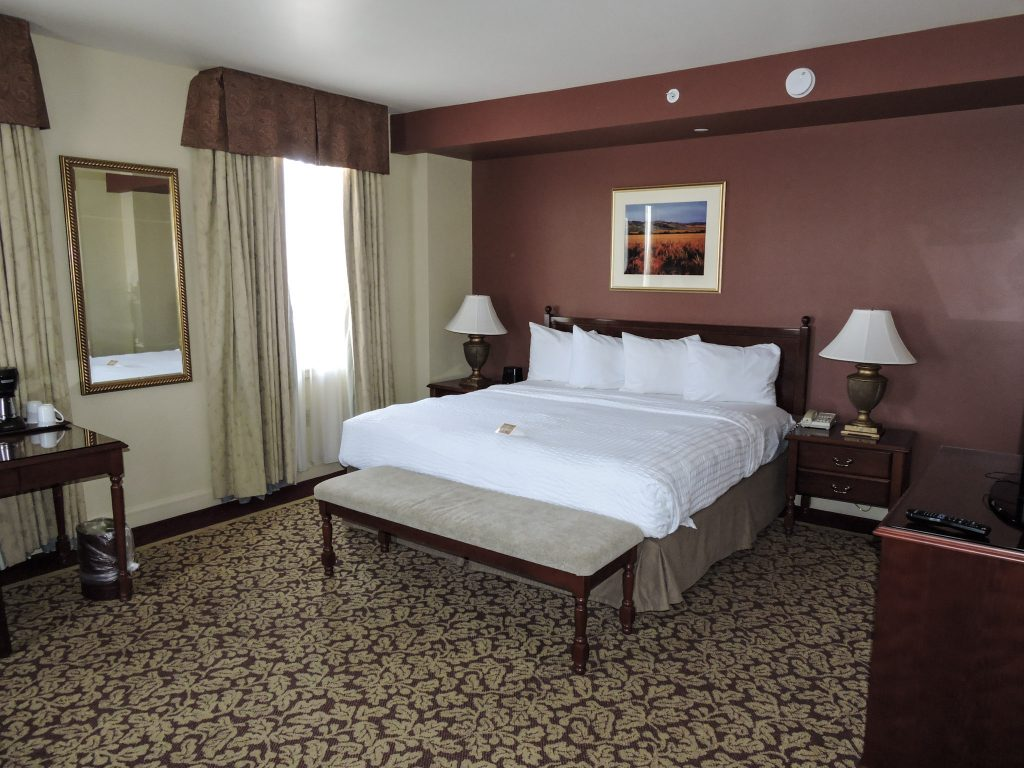 Bedroom at the Marcus Whitman